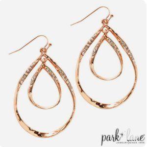 PARK LANE Belle Earrings in Rose Gold